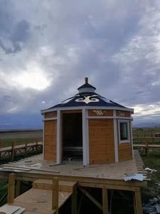 藏式风格蒙古包